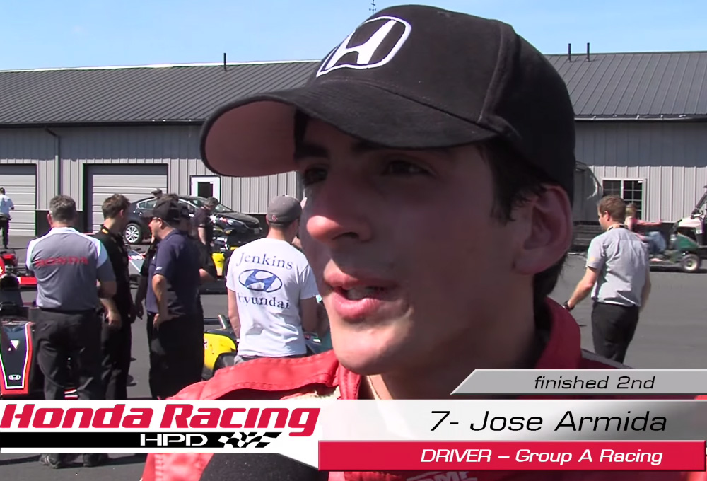 Jose Armida on Formula Lites