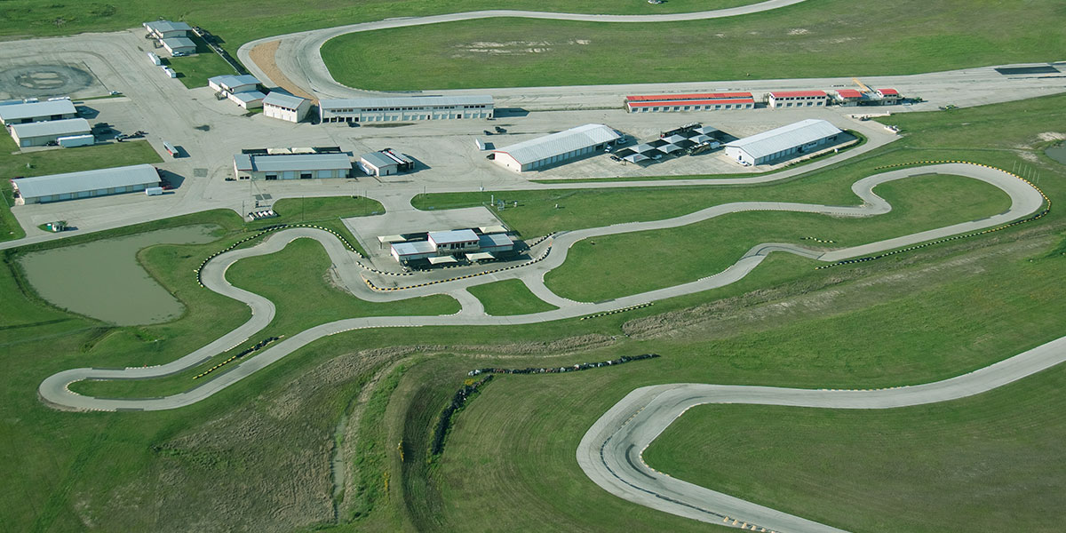 Facility Overview - Karting Track